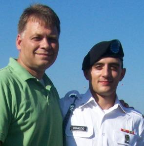 Father and Son, Antonio Ciraldo and PFC Joseph Ciraldo