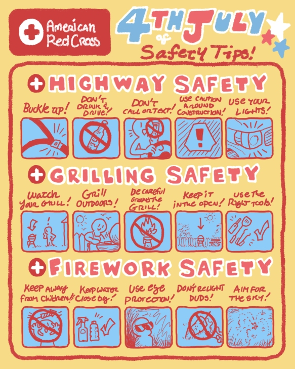 15 ways to stay safe this Fourth of July.
