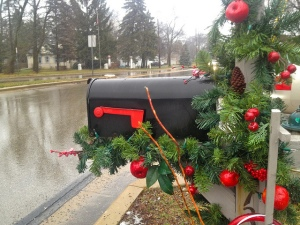 Holiday Mailbox