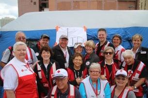 Red Cross Volunteers in Philadelphia