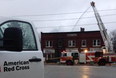 RedCross Door and Fire Truck crop