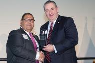 Community Leader Award Winner Akram Boutros & Mike Parks