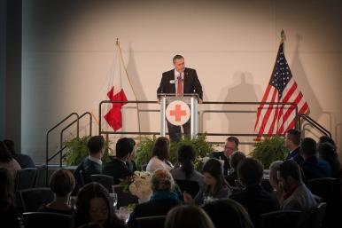 Mike Parks delivers keynote address