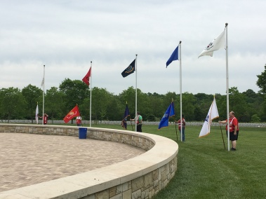 2016 Memorial Day Ceremony, Ohio Western Reserve National Cemetery: Photo Credit/Jessica Tischler, American Red Cross