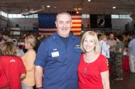Regional Executive Mike Parks and wife Cynthia