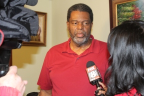 Akron resident Rodney Bowden was interviewed by WJW reporter Maia Belay