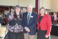 Jessica Tischler, Jim Strause, Division SAF Manager, and Sue Fuehrer, Director, VA Northeast Ohio Healthcare System