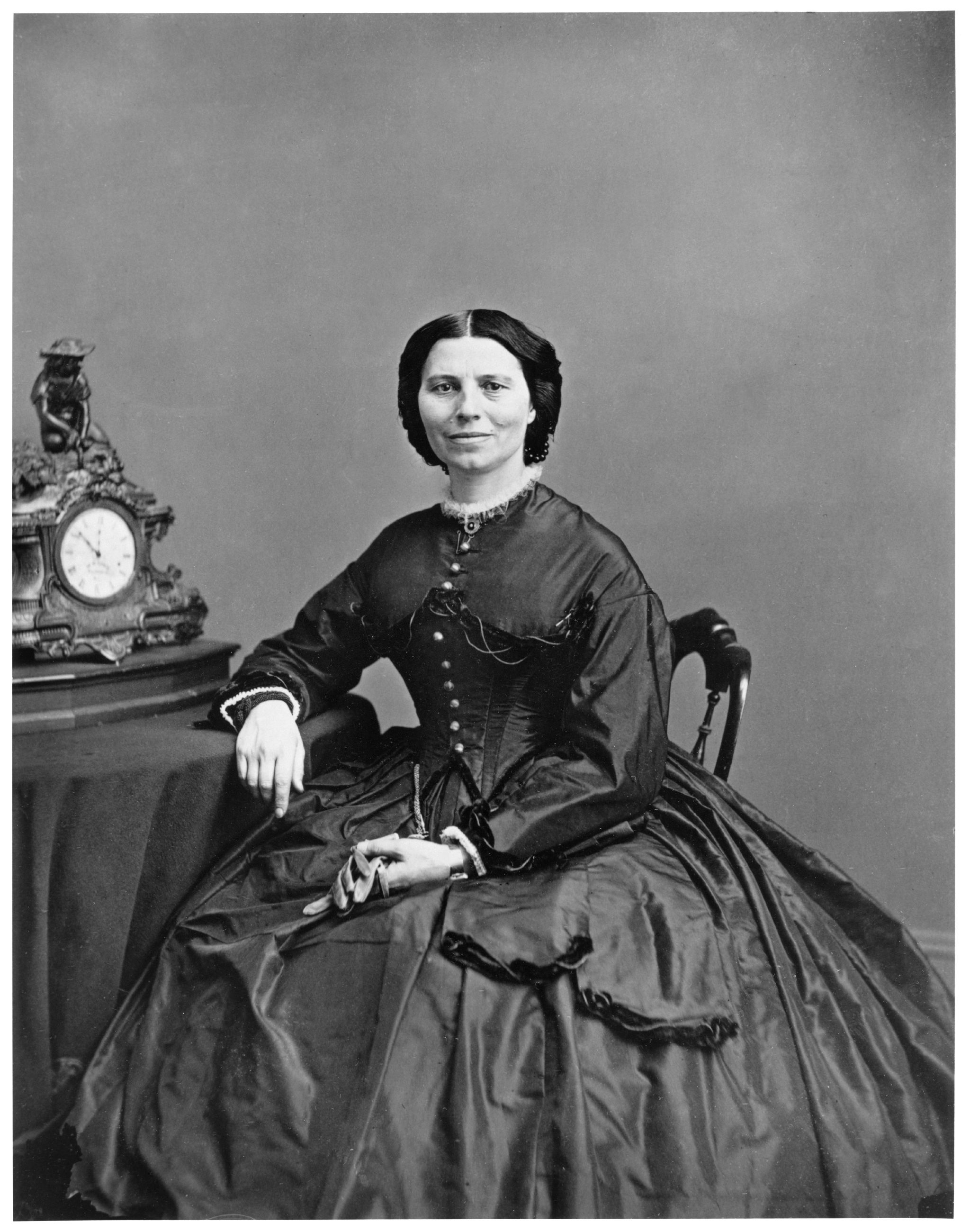 Matthew Brady Portrait of Clara Barton