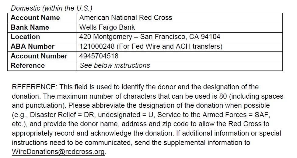 doug donation