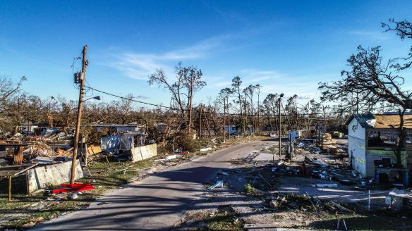 Hurricane Michael video screenshots 2018