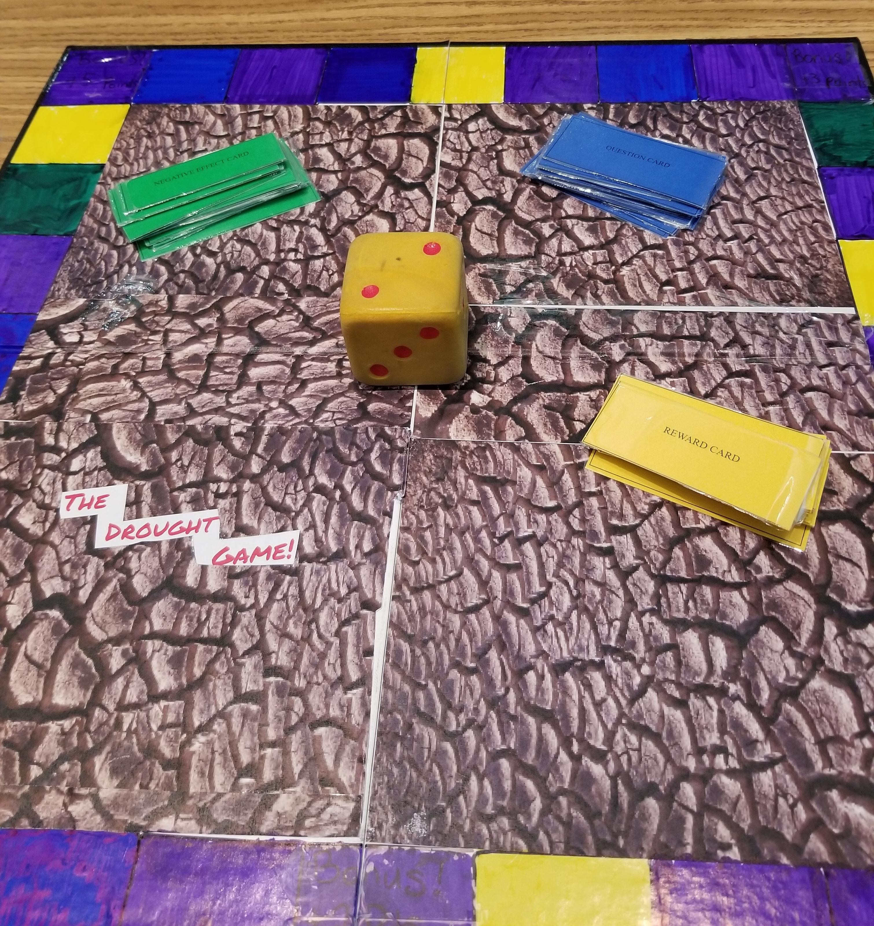 STEM Droughtgameboard