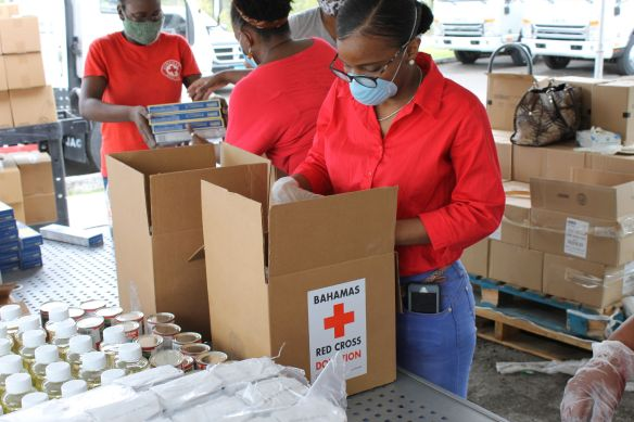 Red Cross COVID-19 Response in the Bahamas 2020