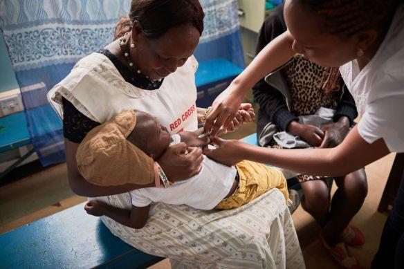Measles & Rubella Immunization Campaign Kenya 2018